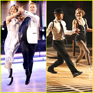 Amy Purdy Dances on Blade Runners For Quickstep on 'DWTS' & Nails It