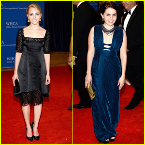 AnnaSophia Robb & Mae Whitman: White House Correspondents' Association Dinner 2014 with Darren Criss