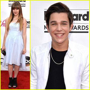 Austin Mahone & Aubrey Peeples: Billboard Music Awards 2014!