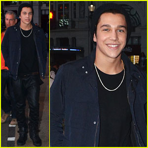 Austin Mahone Shoots 'Shadow' Music Video on Location in London!
