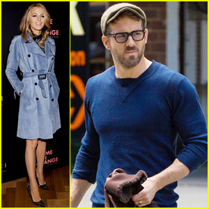 Blake Lively Stuns at Gucci's Chime for Change, Hubby Ryan Reynolds Takes Motorcycle Ride
