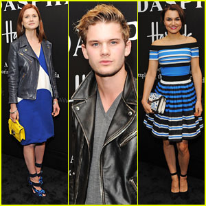 Bonnie Wright & Jeremy Irvine: Pradasphere Attendees!