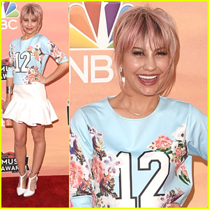 Chelsea Kane Shows Off Pink-ish Hair on iHeart Radio Music Awards 2014 Carpet!