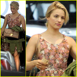 Dianna Agron's Got '99 Problems' with the Los Angeles Heat!
