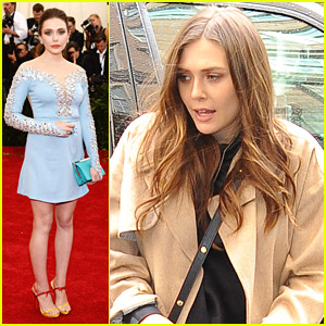 Elizabeth Olsen Takes Miu Miu To The MET Ball 2014