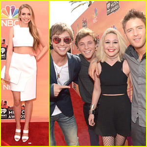 Emblem3 & Olivia Somerlyn: iHeart Radio Music Awards 2014!