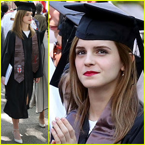 Emma Watson Graduates From Brown University - See the Pics Here!