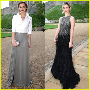 Emma Watson, Lily James & More Celebrate The Royal Marsden With Prince William
