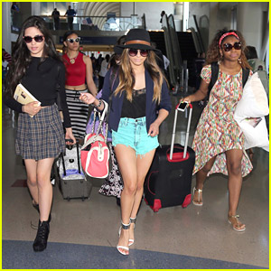 Fifth Harmony Make An Airport Terminal Look Like A Catwalk