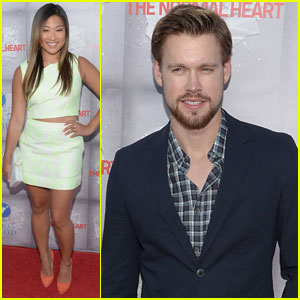 Jenna Uskowitz & Chord Overstreet Support Ryan Murphy at 'Normal Heart' Premiere!