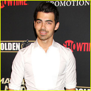Joe Jonas Looks Dapper at the Mayweather vs Maidana Pre-Fight Party!
