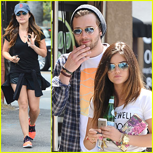 Lucy Hale 'Craves' Lunch with Country Singer Joel Crouse
