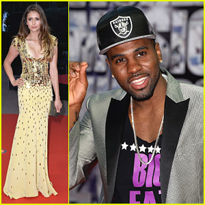 Nina Dobrev & Jason Derulo: World Music Awards 2014!
