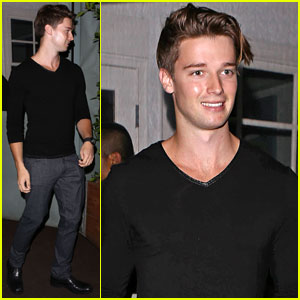Patrick Schwarzenegger Ends Busy Week with Santa Monica Dinner