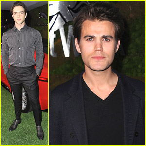 Paul Wesley & Ethan Peck Have 'A Villainous Affair' with Jaguar