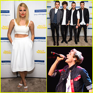 Pixie Lott & Union J: Rays of Sunshine Charity Concert Pics!
