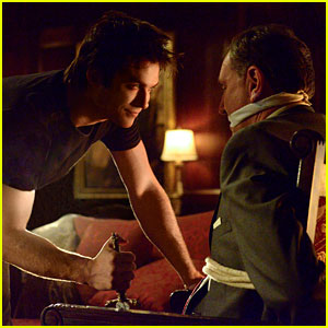 'The Vampire Diaries' Exclusive Photo: Damon Resorts to Torture to Take Down Markos