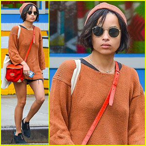 Zoe Kravitz: 'Insurgent' Begins Filming in Atlanta!
