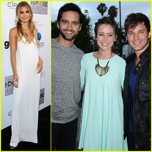 AnnaLynne McCord Reunites with '90210' Cast at 'I Choose' Premiere!