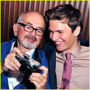 Ansel Elgort & His Dad Arthur Take Pictures Inside 'Fault In Our Stars' After Party
