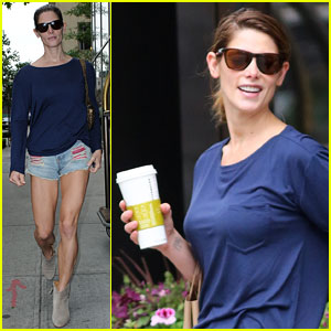 Ashley Greene Says NYC Weather is So Confusing!