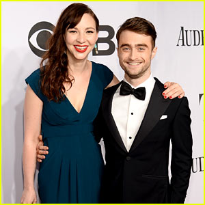 Daniel Radcliffe & Girlfriend Erin Darke Make Red Carpet Debut at Tony Awards 2014