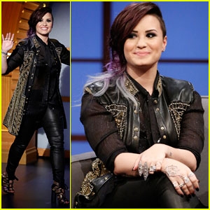Demi Lovato Talks About Her Belief in Aliens & Mermaids on 'Seth Meyers' - Watch Now!