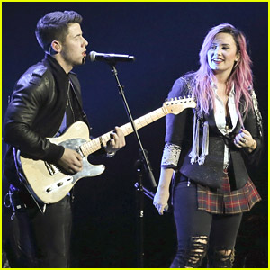 Demi Lovato Teases Us; Says She & Nick Jonas Already Have A Band Name Picked Out. Where Do We Sign Up For a Waiting List?