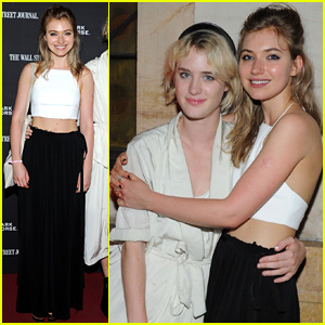 Imogen Poots & Mackenzie Davis Pair Up at 'Boyhood' Opening Night in NYC