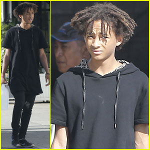 Jaden Smith Carries a Gallon of Water Just in Case He Gets Thirsty!