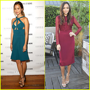 Jamie Chung & Ashley Madekwe Celebrate Cushnie et Ochs & Forward Collaboration