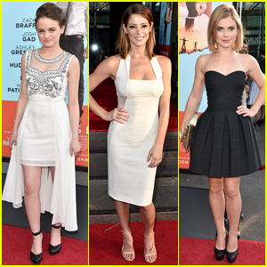 Joey King & Ashley Greene Both Opt for White at 'Wish I Was Here' Premiere