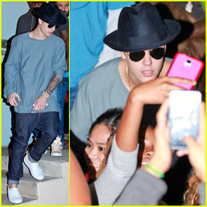 Justin Bieber Hits Up Roller Skating Fundraiser to Support Pal Chris Brown
