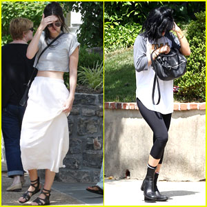 Kendall & Kylie Jenner Take a Joyride in Khloe Kardashian's Jeep