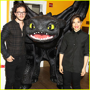 How to train your dragon 3 will give fans an answer on how why toothless joins america ferrera kit harrington for new york how to train your dragon 2 screening ccuart Gallery