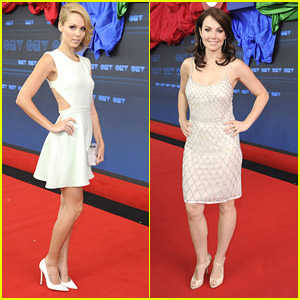 Smallville's Lois Lane & Supergirl Reunite at CTV Upfront 2014 Party