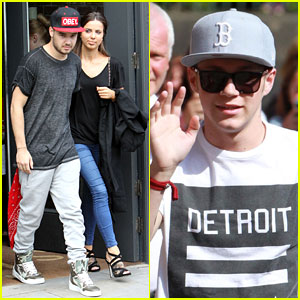 Liam Payne & Niall Horan Make Their Way Through Fans in Manchester!