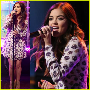 Lucy Hale Lies a Little Better on 'GMA' - Watch Now!