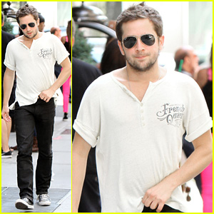 Michael Angarano Steps Out After First Trailer for 'The Knick' Debuts - Watch Now!