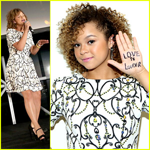 Rachel Crow Sings on Stage at Jed Foundation Gala 2014