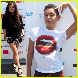 Rebecca Black & Lohanthony Bring Fun to DigiFest NYC 2014!