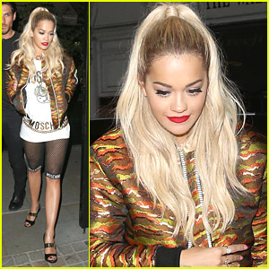 Rita Ora Returns To Chiltern Firehouse After CapitalFM Summertime Ball Performance - Watch Here!