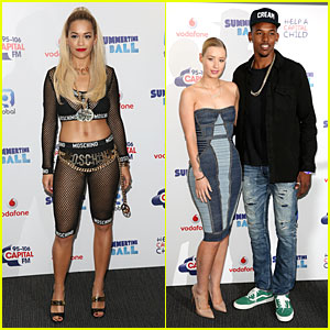 Rita Ora & Iggy Azalea Show Off Their Assets at Capital Summertime Ball!