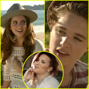 Laura Marano Catches The Vamps' Eye in 'Somebody To You' Video - Watch Here!