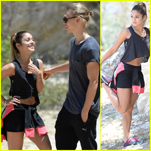 Vanessa Hudgens & Austin Butler Share Some Laughs While Hiking Together!