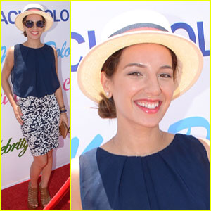 Vanessa Lengies Strikes a Pose at the Celebrity Ranch Polo Match