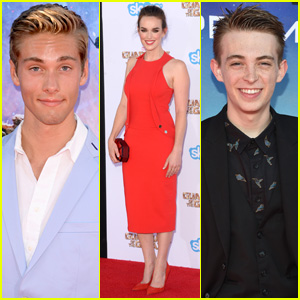 Austin North & Dylan Riley Snyder: 'Guardians of the Galaxy' Premiere Guys!