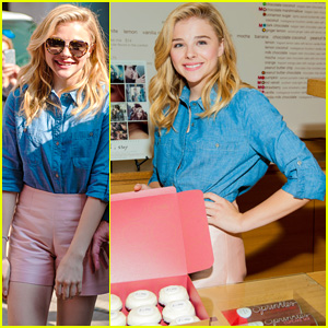 Chloe Moretz Mobbed by Fans at 'If I Stay' Cupcake Event in Chicago
