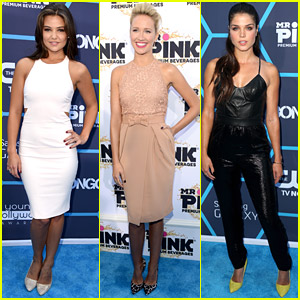 Danielle Campbell & Anna Camp Style It Up at Young Hollywood Awards 2014
