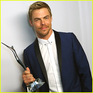 Derek Hough Wraps 'Move Live On Tour', Wins Young Hollywood Award & Announces Book Tour